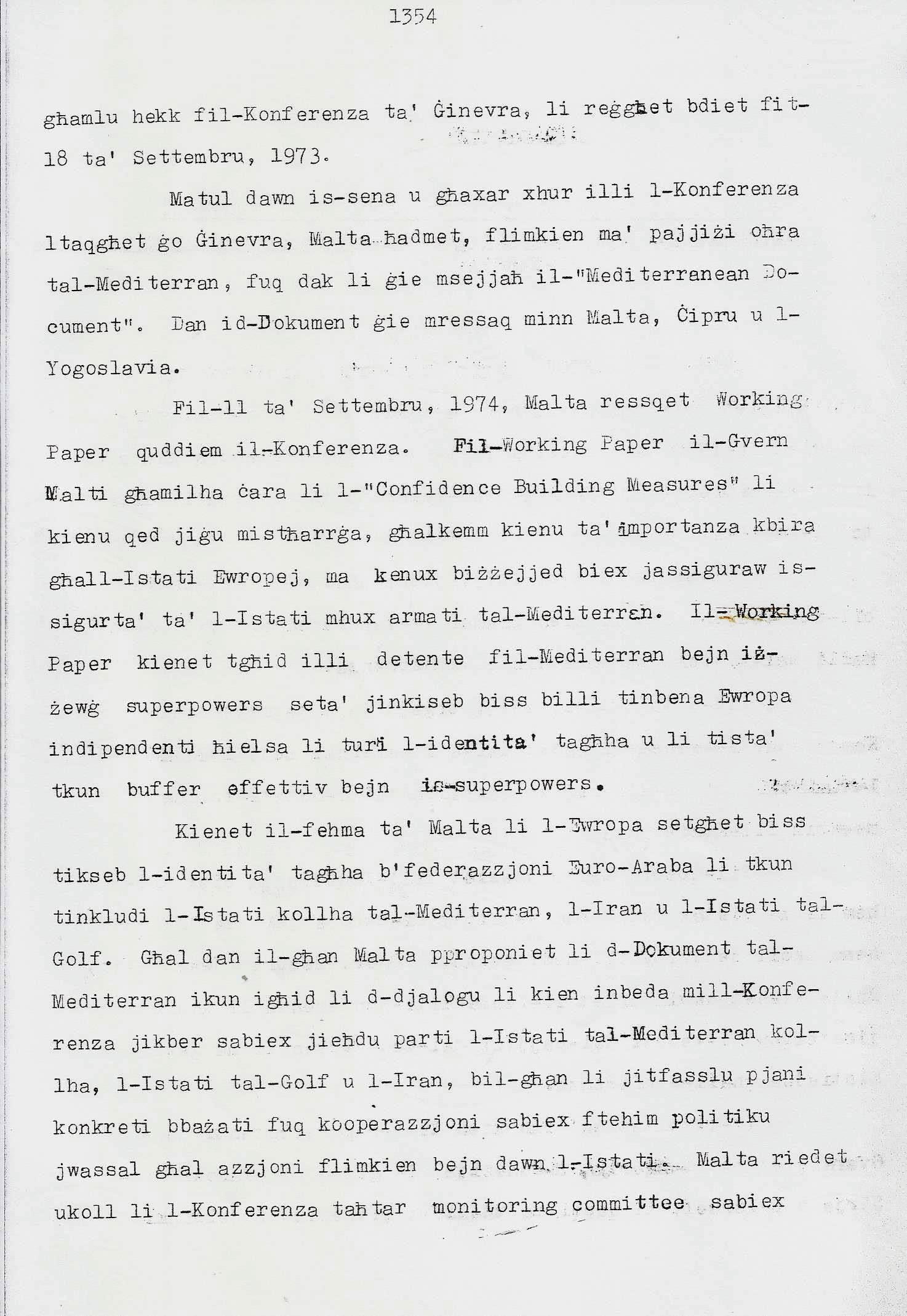2. Dom Mintoff Parlament 15-7-1975